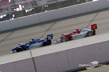 Townsend Bell and Dan Wheldon