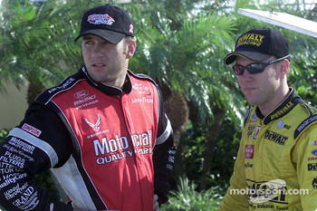 Elliott Sadler and Matt Kenseth