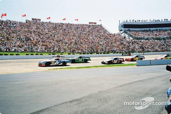 Mark Martin leading the pack