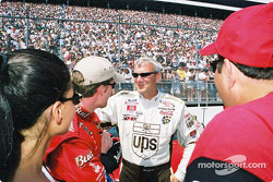 Dale Earnhardt Jr. and Dale Jarrett