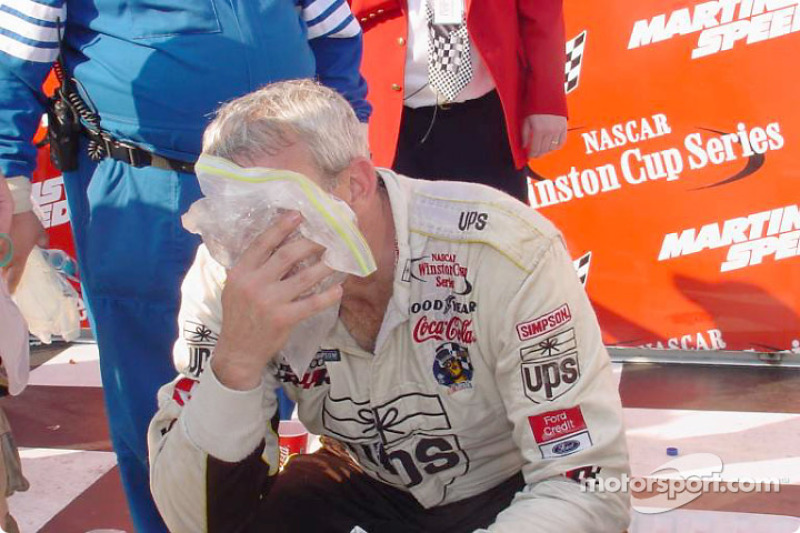 A tough win for Dale Jarrett