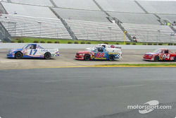 Ricky Hendrick leading the pack
