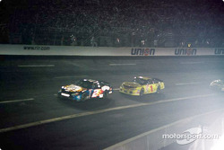 Rusty Wallace and Steve Park