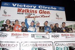 Team Spencer Motorsports not only earned the SRPII title at Watkins Glen, but also earned a place on the overall podium by finishing third