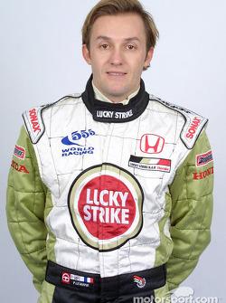 Test driver Patrick Lemarié