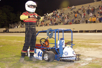 Briggs Junior Sportsman Champ winner-#44 Corey Roberts- Photo by Bruce C. Walls