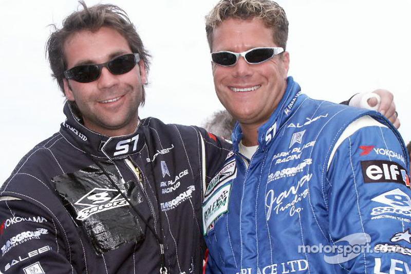 Chris Bingham on right