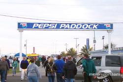 Pepsi paddock
