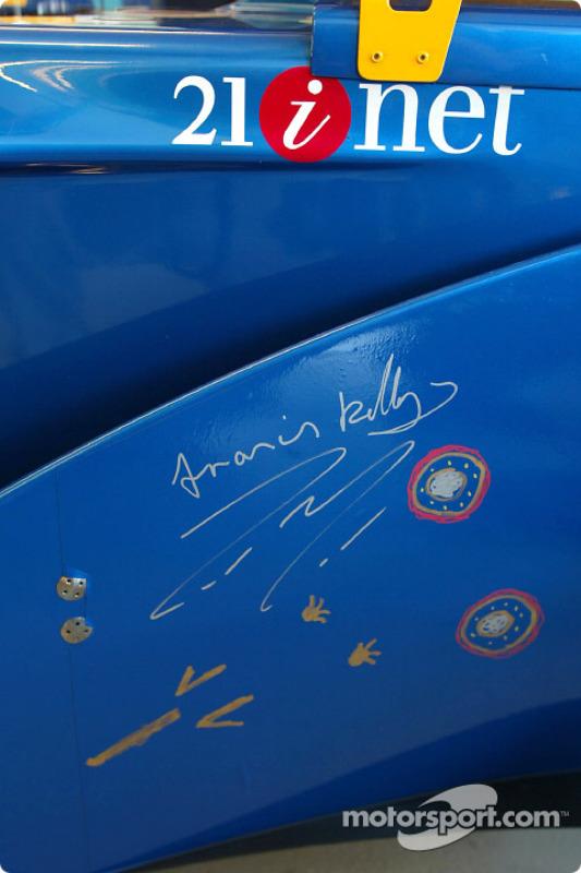 Signed by Aboriginal Bush Mechanics