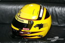 Sam Hornish Jr.'s helmet