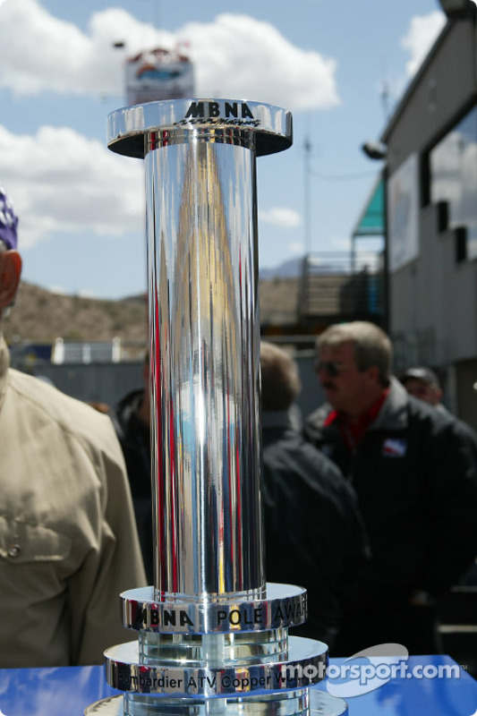 The MBNA Pole Award