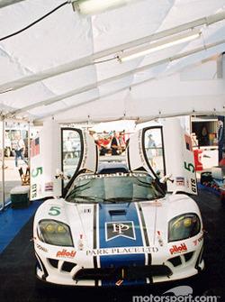 Park Place Racing garage area