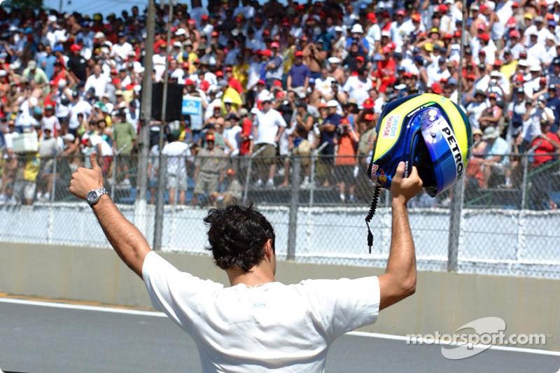 Local hero Felipe Massa
