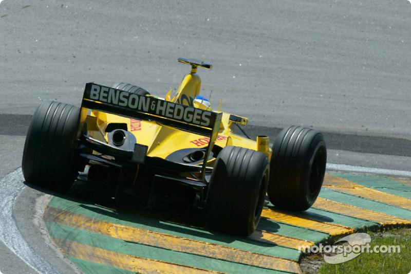 Giancarlo Fisichella in the warmup session
