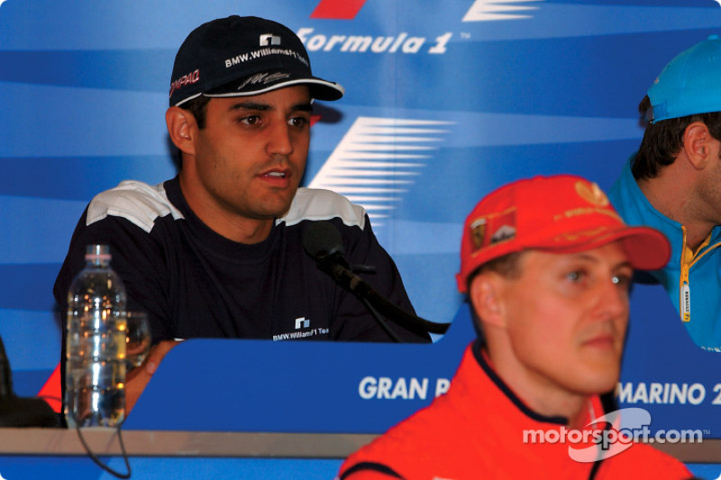 Thursday press conference: Juan Pablo Montoya and Michael Schumacher