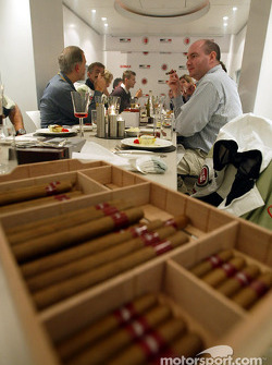 Lucky Tribe wine and cigar evening