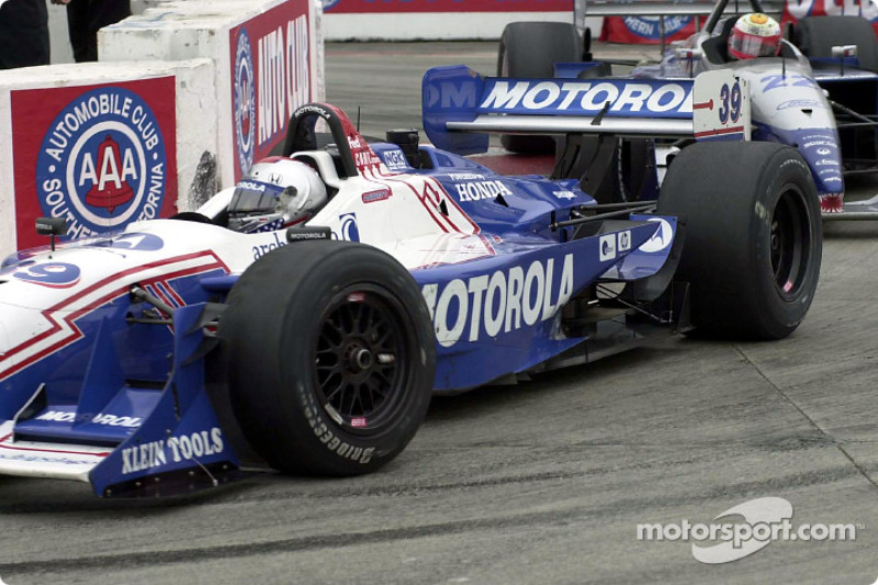 Michael Andretti and Max Papis