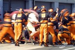 Pitstop simulation at Arrows