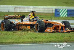 Off-road excursion for Heinz-Harald Frentzen