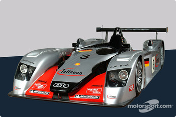 The Infineon Audi R8 of Krumm/Peter/Werner
