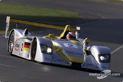 Johnny Herbert in the Infineon Audi R8 #2