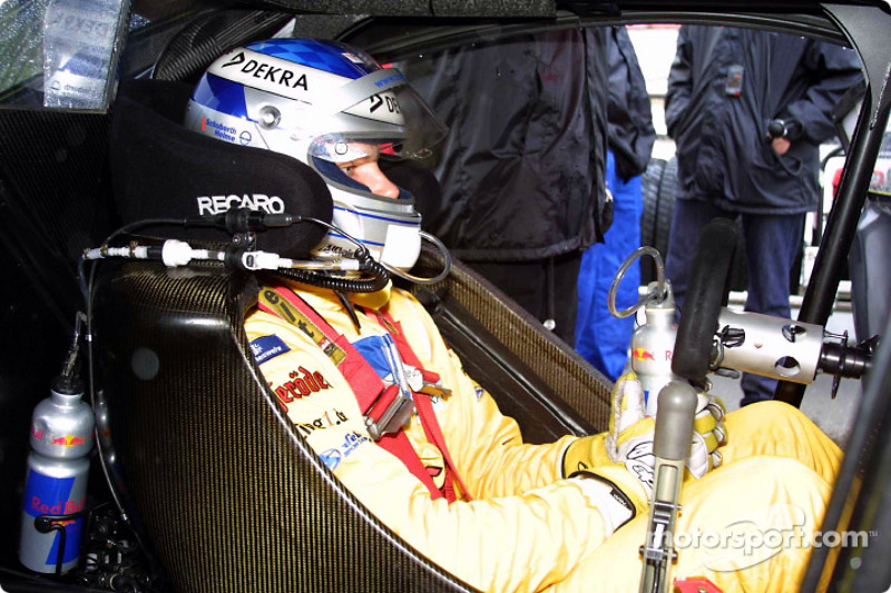 Martin Tomczyk on the grid