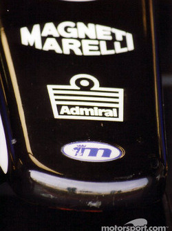 Minardi's nose tip