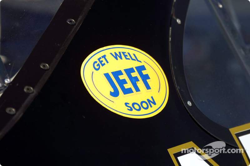 Get well Jeff Purvis