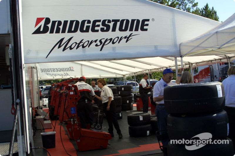 Bridgestone trailer