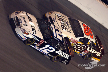 Ryan Newman and Dale Jarrett