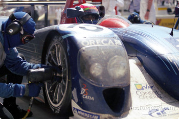 Pitstop at Team ORECA