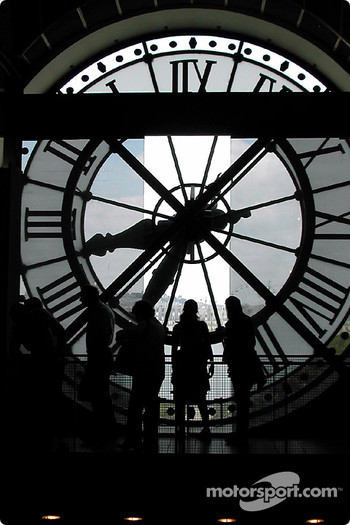 Looking through the clock at Muse d'Orsay