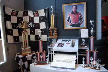 Visit to Gilles Villeneuve Museum in Berthierville on the way to Trois-Rivières