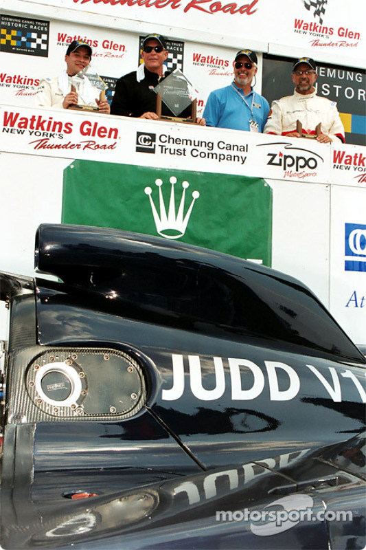 Judd powered Jack Baldwin to a win