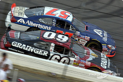 Jason Keller passing Greg Biffle