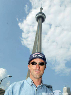 Visit of Toronto with ALMS drivers: David Brabham
