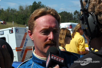 Race winner Paul Bonaccorsi