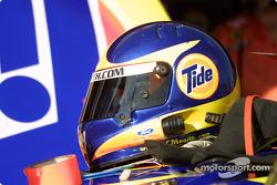 Ricky Craven's helmet