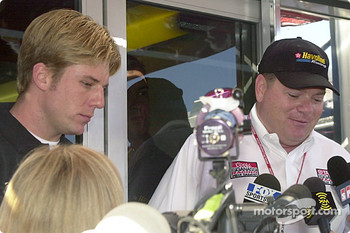 Chip Ganassi announces Jamie McMurray to drive the Havoline Dodge in 2003