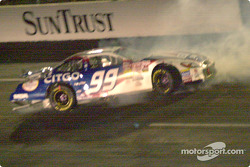 Jeff Burton crash