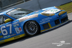 The Racer's Group Porsche GT3 R runs again