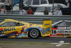 #30 McLaren F1 GTR, #16 Honda NSX