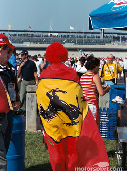 Ferrari colours