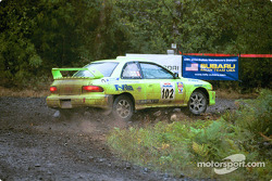 #102  Scott Trinder, Paul Westwick, Vancouver BC, '00Subaru 2.5 RS turbo