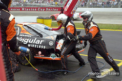 Robby Gordon getting fueled