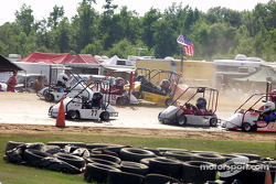 Champ Kart racers get tangled up at the Twister Kart Dirt National