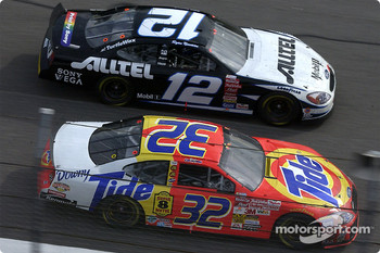 Ryan Newman and Ricky Craven