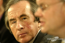 Sir Jackie Stewart and Richard Parry Jones