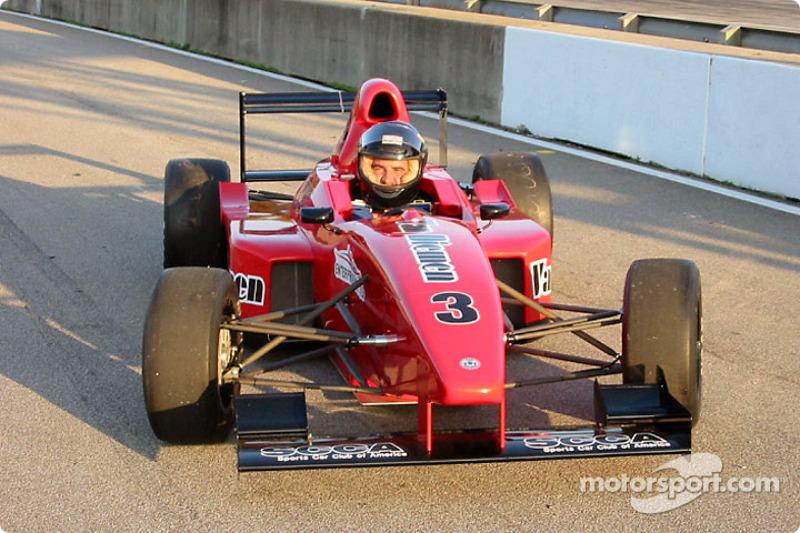 The SCCA Enterprises Formula Sports Racer