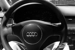Audi RS6 steering wheel